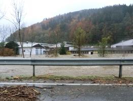 Slika 15: Mislinja, Pameče - poplava 2012