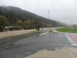 Slika 10: Mislinja, Pameče - poplava 2012